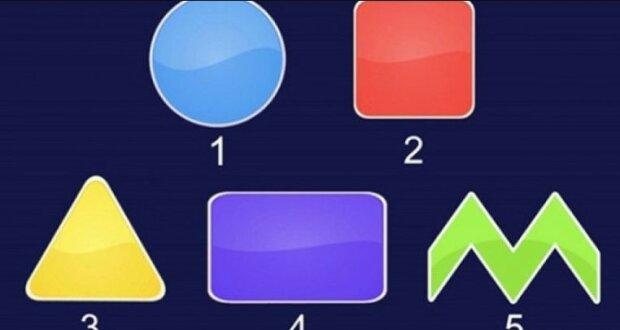 Který geometrický tvar se vás na první pohled nejvíce zaujal: zjistěte, kterým směrem se máte pohnout