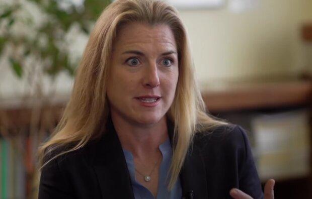 Elizabeth Holmes. Foto: snímek obrazovky YouTube