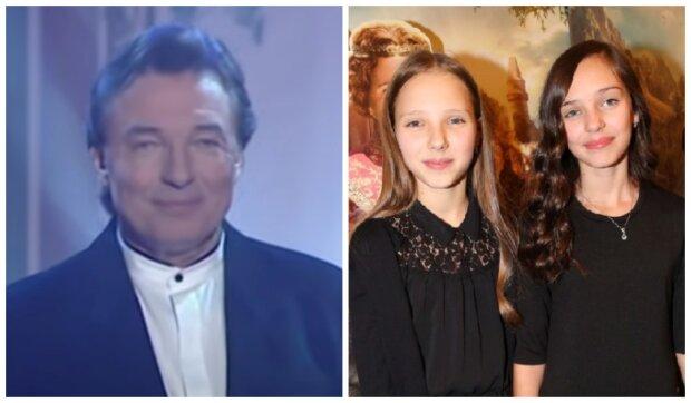 Karel Gott a dcery. Foto: snímek obrazovky YouTube