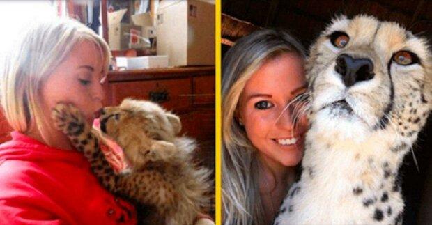 Jak žena zachránila mládě geparda před pytláky