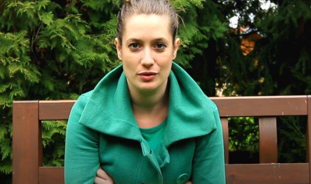 Lenka Zahradnická. Foto: snímek obrazovky YouTube