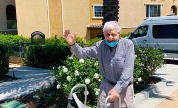 Jak 93letý důchodce porušil zákaz odchodu z domu, aby potěšil svou ženu