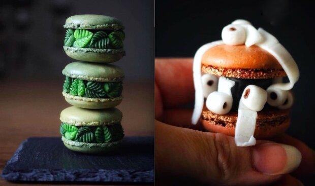 Pekařka změnila obyčejné makaróny na vynikající jedlé sochy