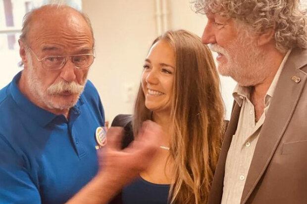 Lucie Vondráčková letos žije naplno: Po boku charismatických pánů rozdávala úsměvy