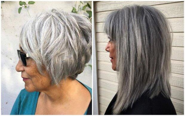 Krátký bob a devět dalších účesů, které zvýrazní krásu šedivých vlasů