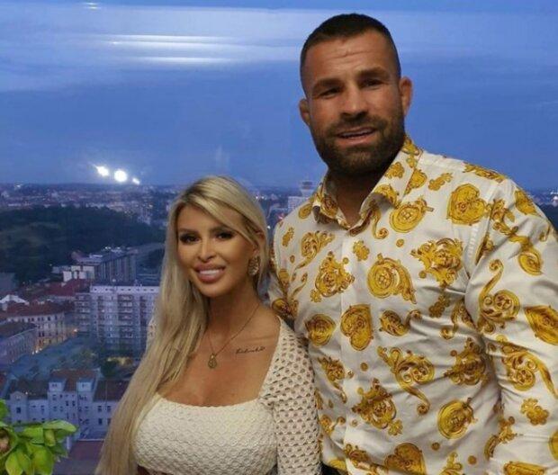 Lela Ceterová a Karlos Vémola. Foto: snímek obrazovky Instagram
