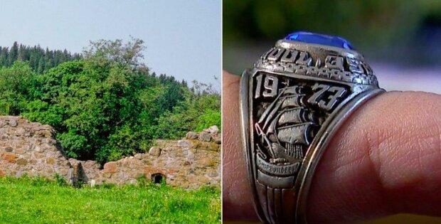 Žena ztratila manželův prsten: téměř za půl století byl nalezen v lese na jiném kontinentu