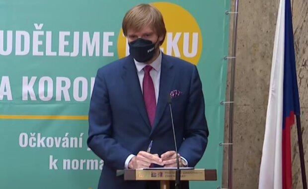 Adam Vojtěch. Foto: snímek obrazovky YouTube