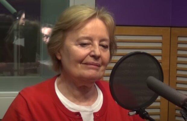 Magda Vášáryová. Foto: snímek obrazovky YouTube