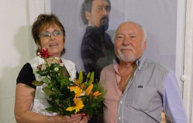 Olga Matušková a její přítel Jiří Planner. Foto: snímek obrazovky YouTube