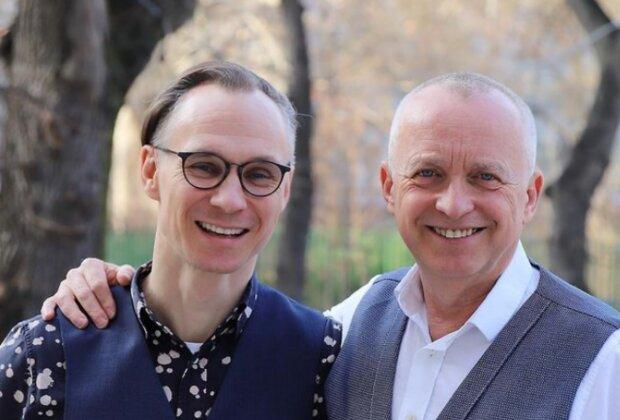 Karel Voříšek a jeho přítel Vladimír Řepka. Foto: snímek obrazovky Instagram