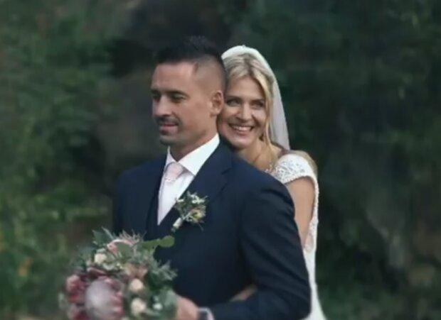 Tomáš Plekanec a Lucie Šafářová. Foto: snímek obrazovky YouTube
