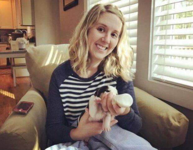 Pěstounská rodina byla překvapená, když viděla, jak zvláštní štěňata porodila jejích nová fenka