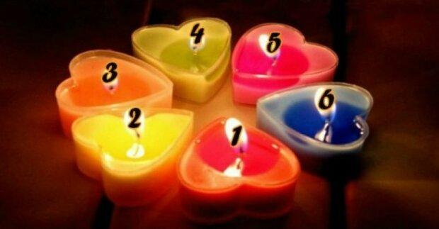 Vybraná svíčka odhalí zajímavá tajemství vaší osobnosti