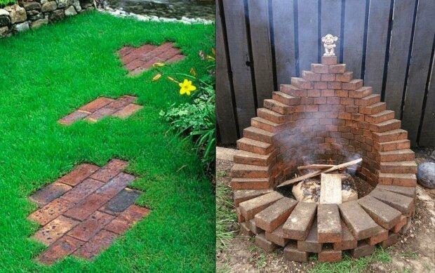 Skvělé nápady, jak cihlou ozdobit okolí chaty