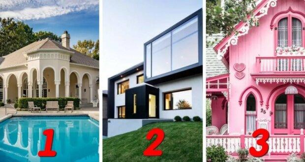Test osobností: Vybraný vámi dům, prozradí vás psychologický věk