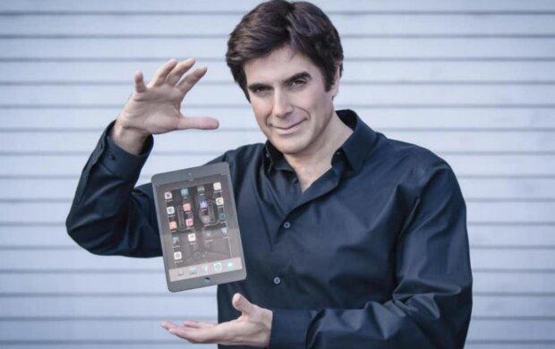 David Copperfield. Foto: snímek obrazovky YouTube