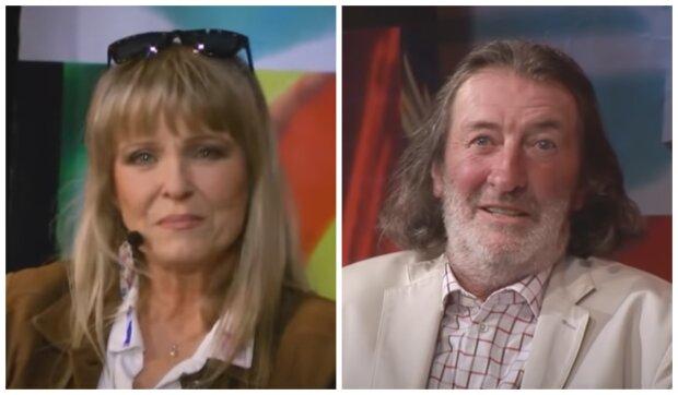 Chantal Poullain a Bolek Polívka. Foto: snímek obrazovky YouTube