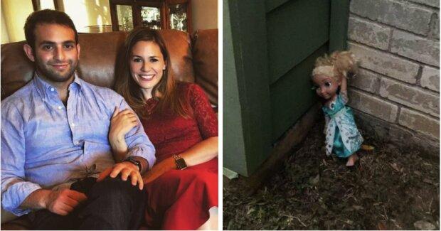 Rodina několikrát vyhazovala starou panenku, ale ta se po každé vracela čímž vyděsila vše členy rodiny