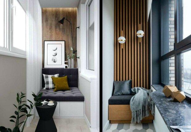 Řekněte ne plastovému nábytku a skříním s harampádím: sedmnáct nápadů na oživení klasického úzkého balkonu