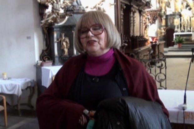 Naďa Urbánková. Foto: snímek obrazovky YouTube