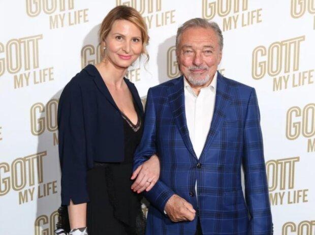 Karel Gott a Ivana Gottová. Foto: snímek obrazovky blesk.cz