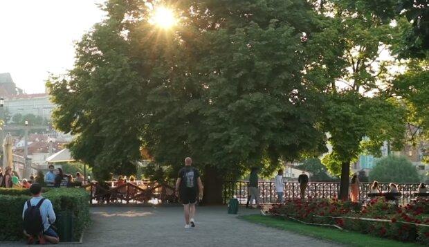 Počasí. Foto: snímek obrazovky YouTube