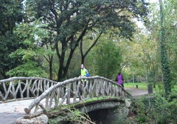 Podzimní počasí. Foto: snímek obrazovky YouTube