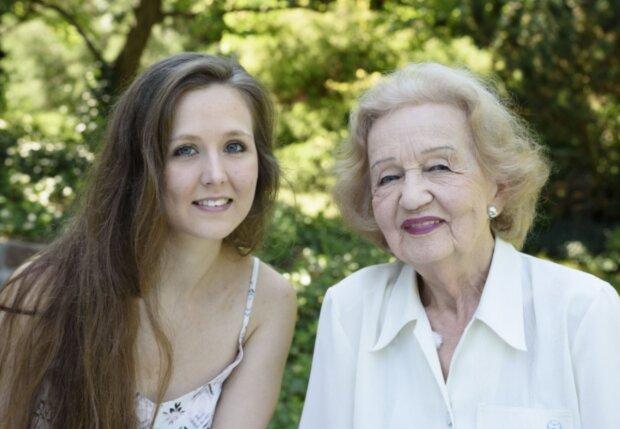 Alžběta a Blanka Bohdanová. Foto: snímek obrazovky Facebook