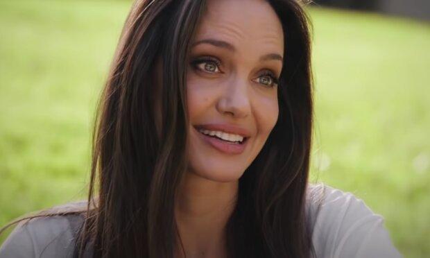 Angelina Jolie. Foto: snímek obrazovky YouTube